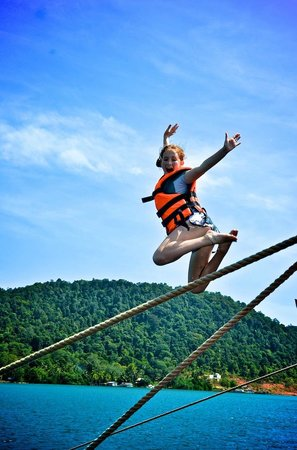 Loola Adventure Resort: Boom Netting