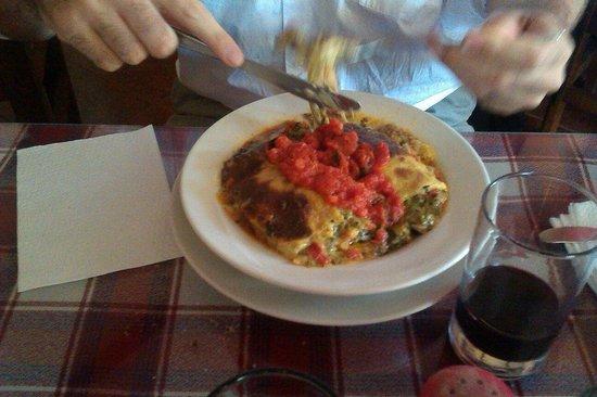 El Italiano: Lasagna Vegetariana