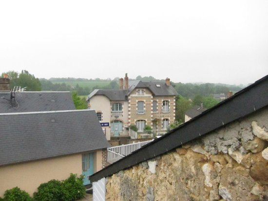 Auberge Relais du Cheval Blanc: View from our room