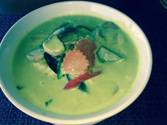 Sabai Corner : Green Curry