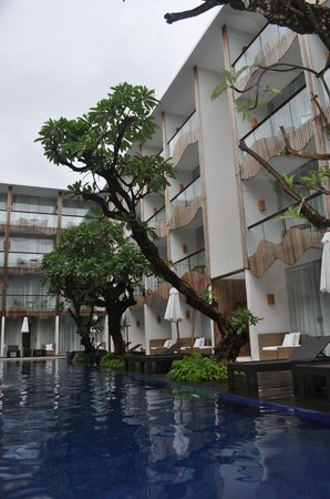 The Bene Hotel: Poolside view