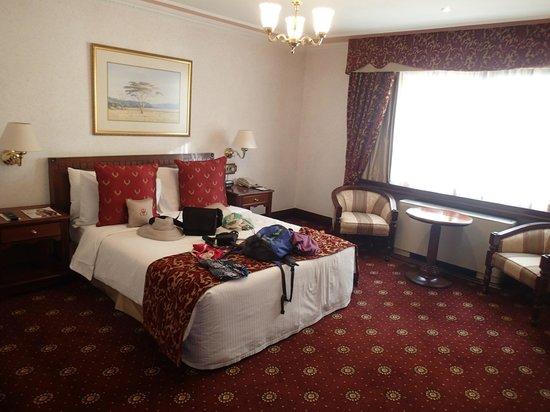Sarova Stanley : Double room- excuse the luggage