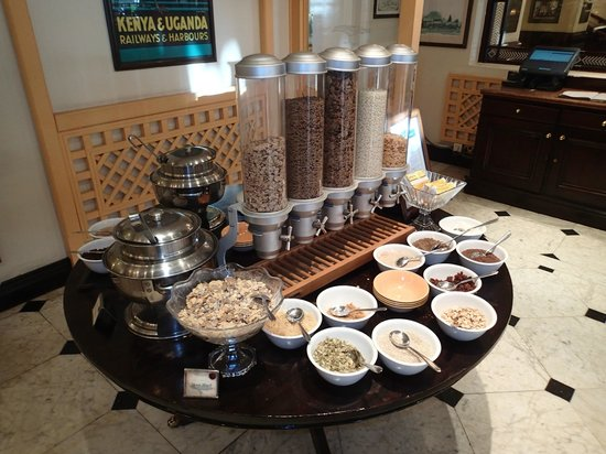Sarova Stanley : Buffet breakfast