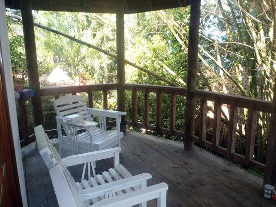 Kuyaba Hotel & Restaurant - Negril: Huge Balcony
