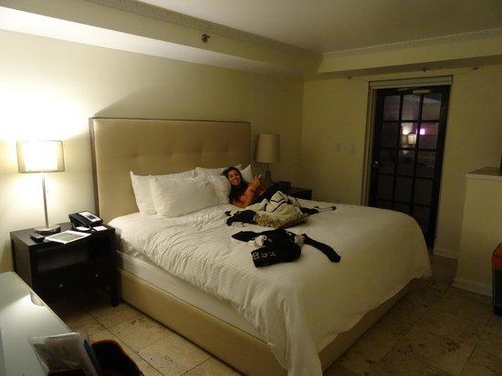 Hotel Ocean: bed