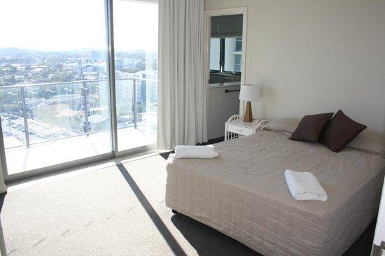 Majorca Isle Beachside Resort : Main bedroom