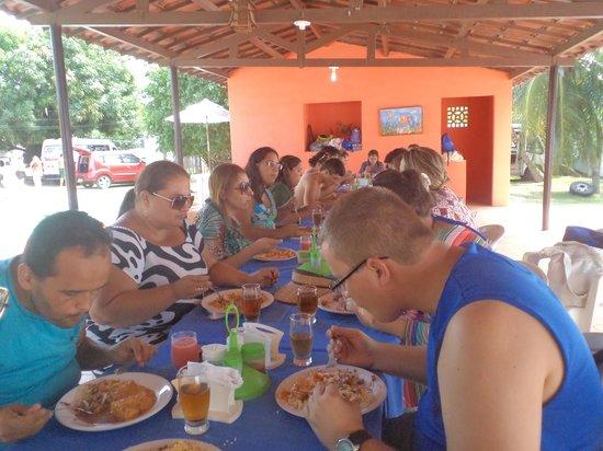 Pousada Sol Poente: Restaurante para grupos