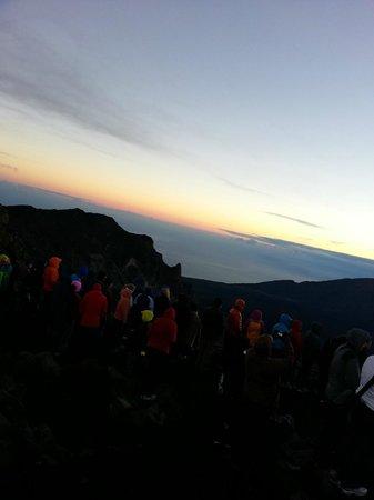 Haleakala Crater: ハレアカラ・日の出で前裏山20140115