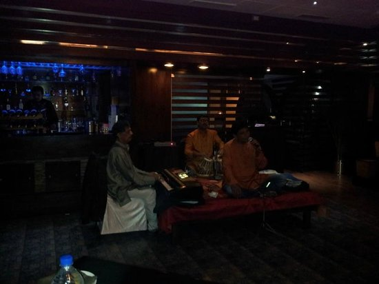 Goldfinch Hotel Bangalore: Live music on roof top