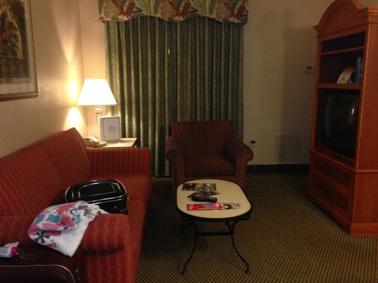 Hawthorn Suites Lake Buena Vista : living room area