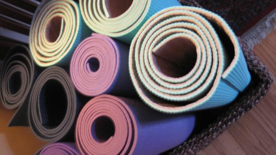 The Lavender Inn : Yoga on the lawn
