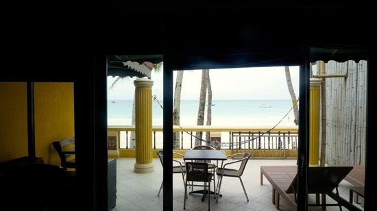 True Home Hotel, Boracay: Nice balcony
