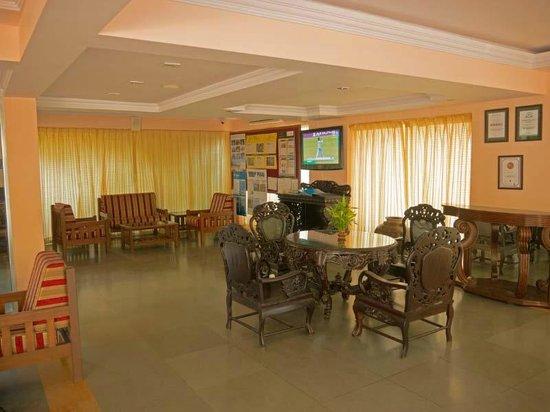 Ocean Palms Goa: Hotel Reception Area