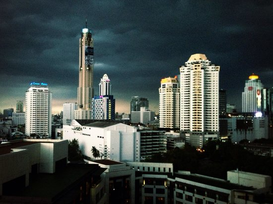 Siam Kempinski Hotel Bangkok : view from hotel