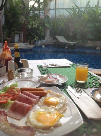 Rome Boutique Hotel & Spa: breakfast