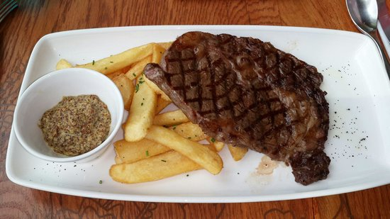 The Kitchen Table : Rib steak