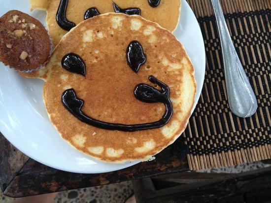 Railay Village Resort: Pancakes every day