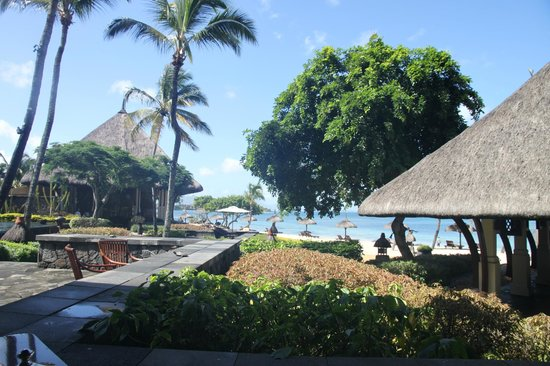 The Oberoi, Mauritius : View from Breakfast