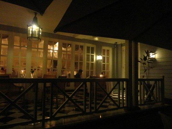Chateau Mon Desir: The restaurant
