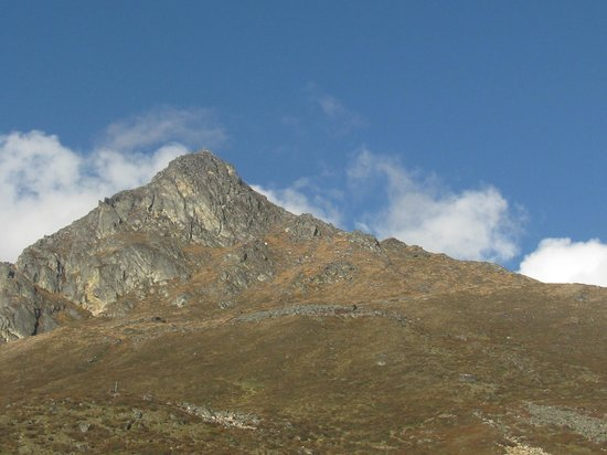 Langtang National Park, Népal : Kyanjin Ri Peak seen from Kyanjin Gumba