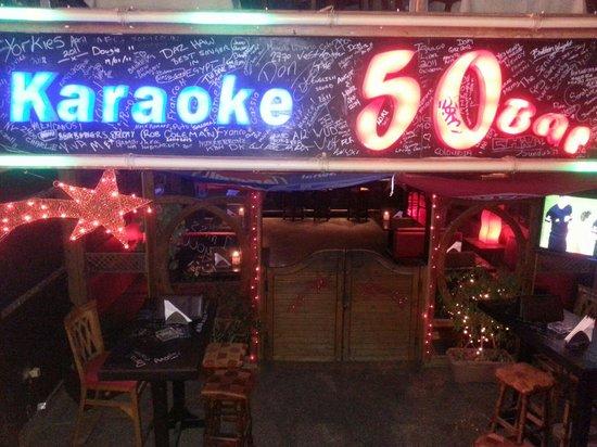 Na'ama Bay : 50 bar at namma bay/beach front