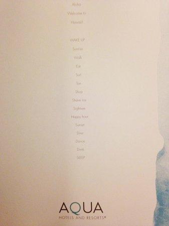 Aqua Skyline at Island Colony: Inside the coffee table book