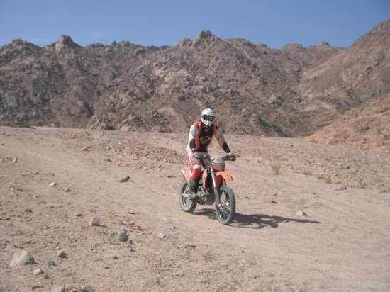 Ktm Egypt Calling Dakar Adventure Tours: Typicall trail conditions
