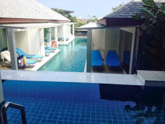 Samui Resotel and Spa: The view from my balcony for pool access villas