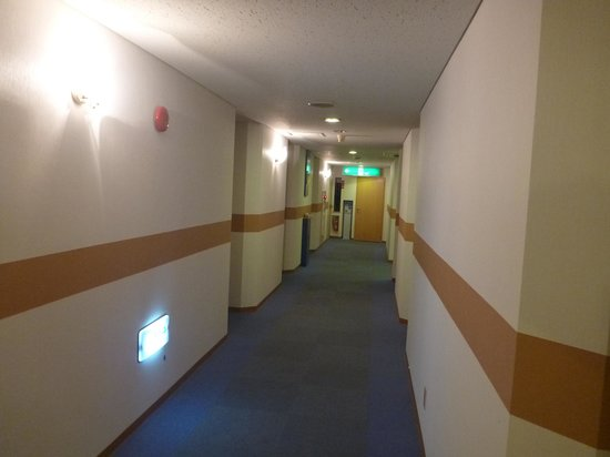 B&B Park Hotel Kagoshima: 廊下