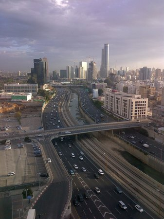 Crowne Plaza Tel Aviv City Center: View