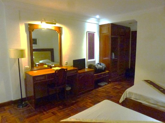 Diamond Hotel, la chambre
