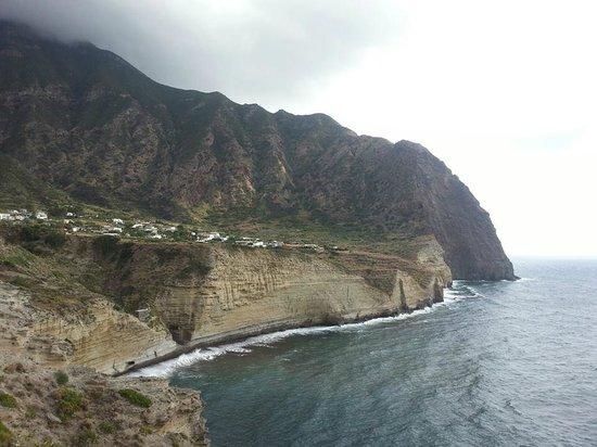 Salina Island: Pollara, Salina where Il Postino was filmed- breathtaking is not enough to describe!