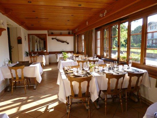 L'Echo des Montagnes : une des salles à manger