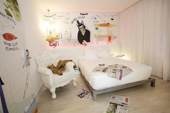 Dormirdcine Hotel: Habitación
