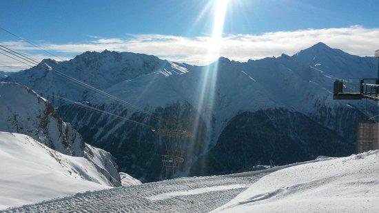 Ischgl-Samnaun ski area: Ишгль
