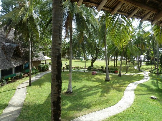 Voyager Beach Resort: View from our balcony