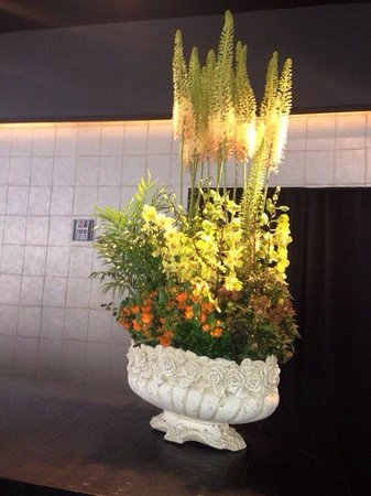 Leonardo Boutique Hotel Tel Aviv : Lovely flowers
