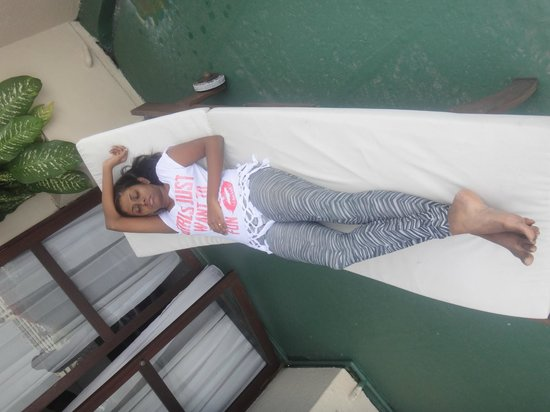 Cinnamon Lakeside Colombo: Balcony