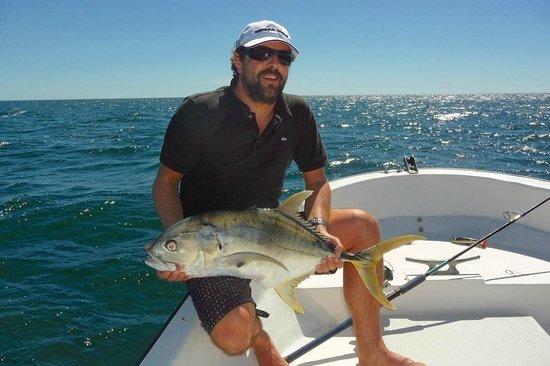 Samara Fishing Trip: Une carangue