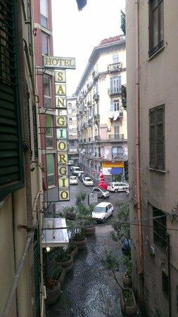 Hotel San Giorgio: vista dalla camera