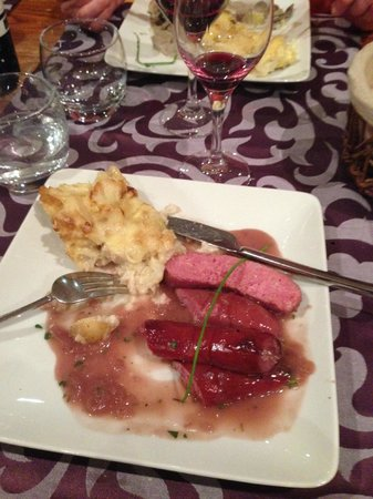 Hotel Liberty Mont Blanc : Main course