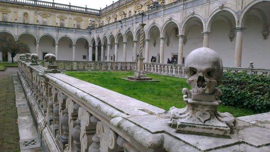 Certosa e Museo di San Martino Napoli: Chiostro