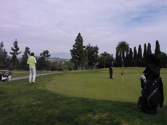 Putting green at Montebello