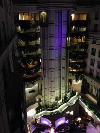Radisson Blu Royal Hotel, Brussels : Vue de la chambre
