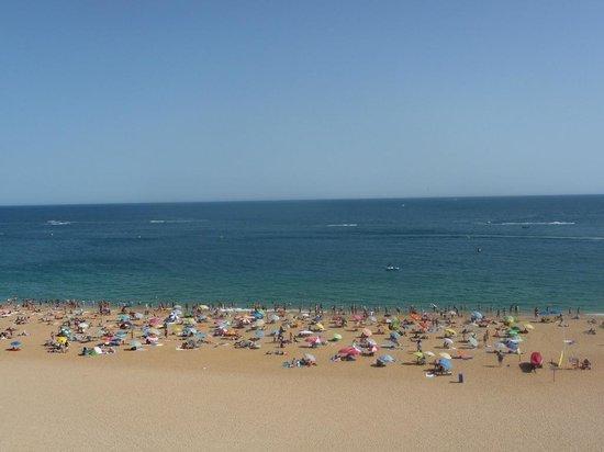 Praia dos Pescadores : the beach during the day
