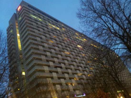 Sheraton Muenchen Arabellapark Hotel: Hotel form outside
