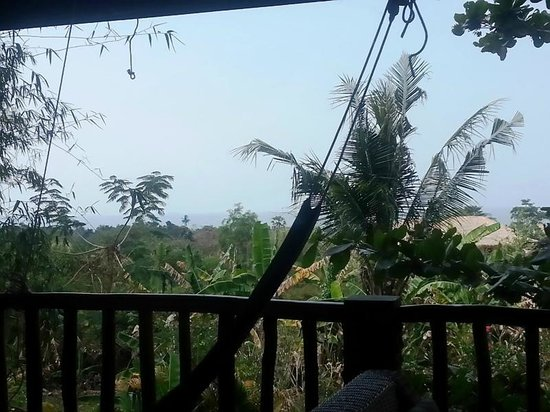 Kep Lodge: View from Balcony