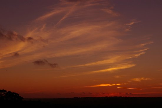North Buckham Farm: Dramatic sunset