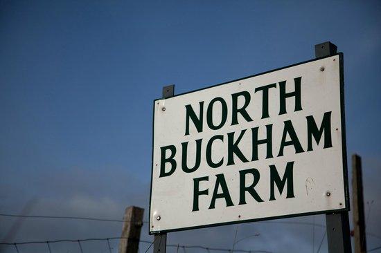 North Buckham Farm: Farm entrance