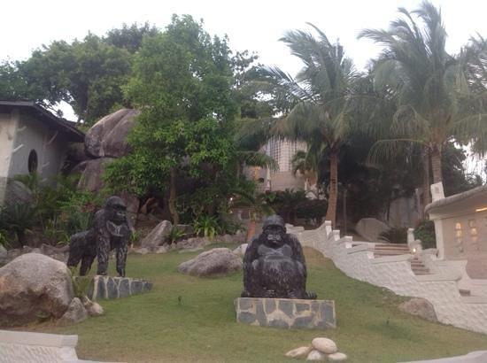 Jamahkiri Resort & Spa : jardin
